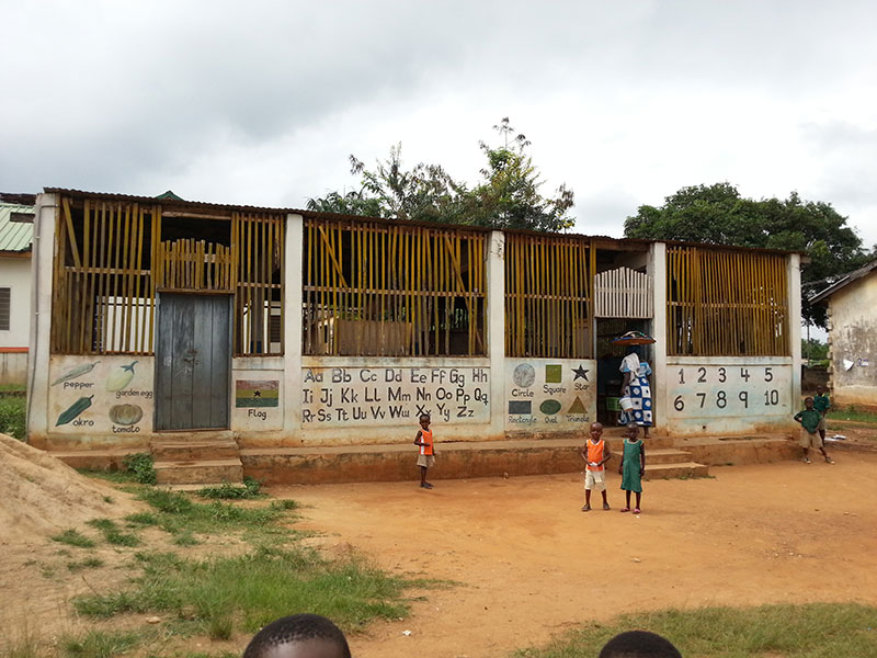 Grundchule in New Tafo