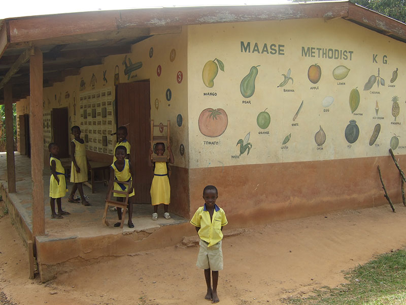 Kindergarten in Maase