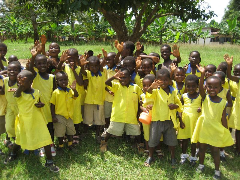 Schulkinder der Methodist School