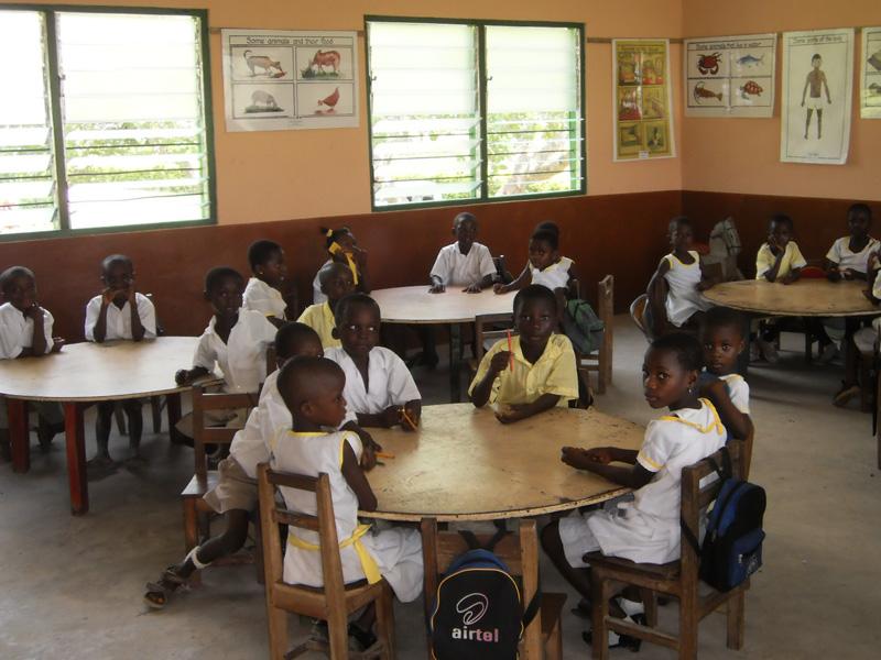 Im Kindergarten in Kukurantuni