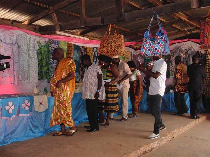 Ausstellung in Maase