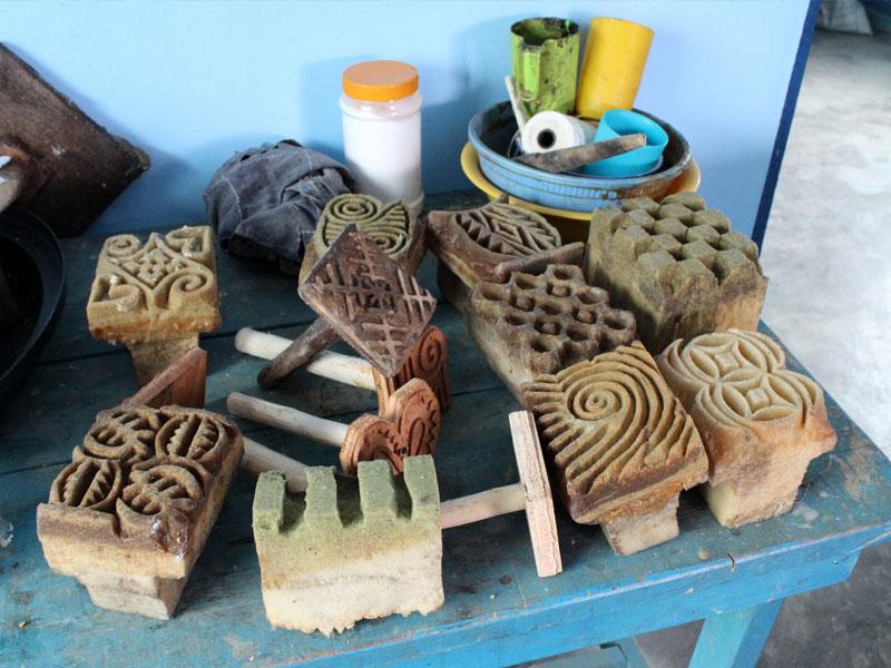 Workshop Batik Druckmodel