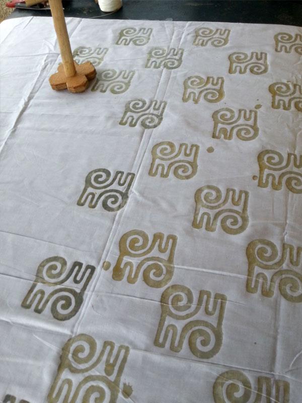Workshop Batik Wachsdruck