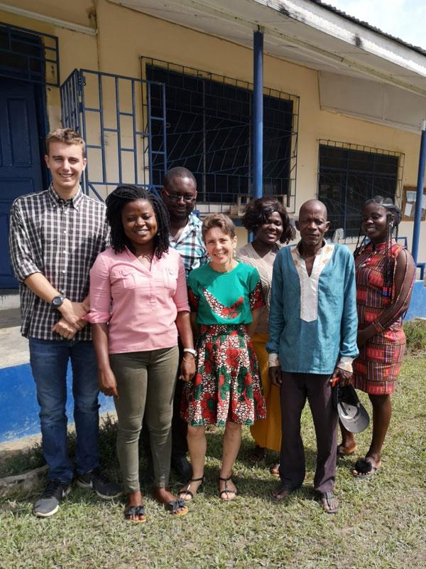 Unser Team in Ghana