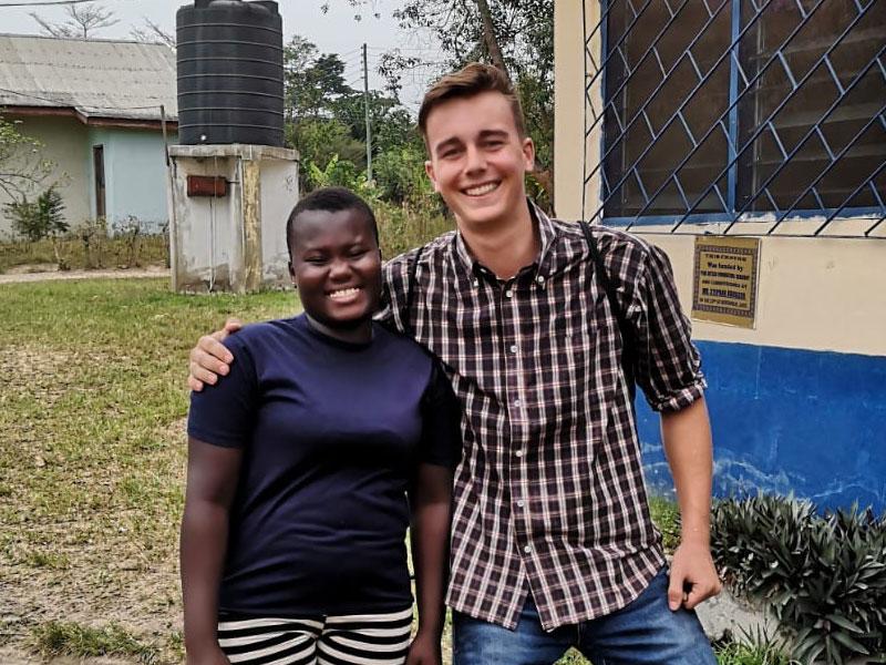 Patenkinder in Ghana